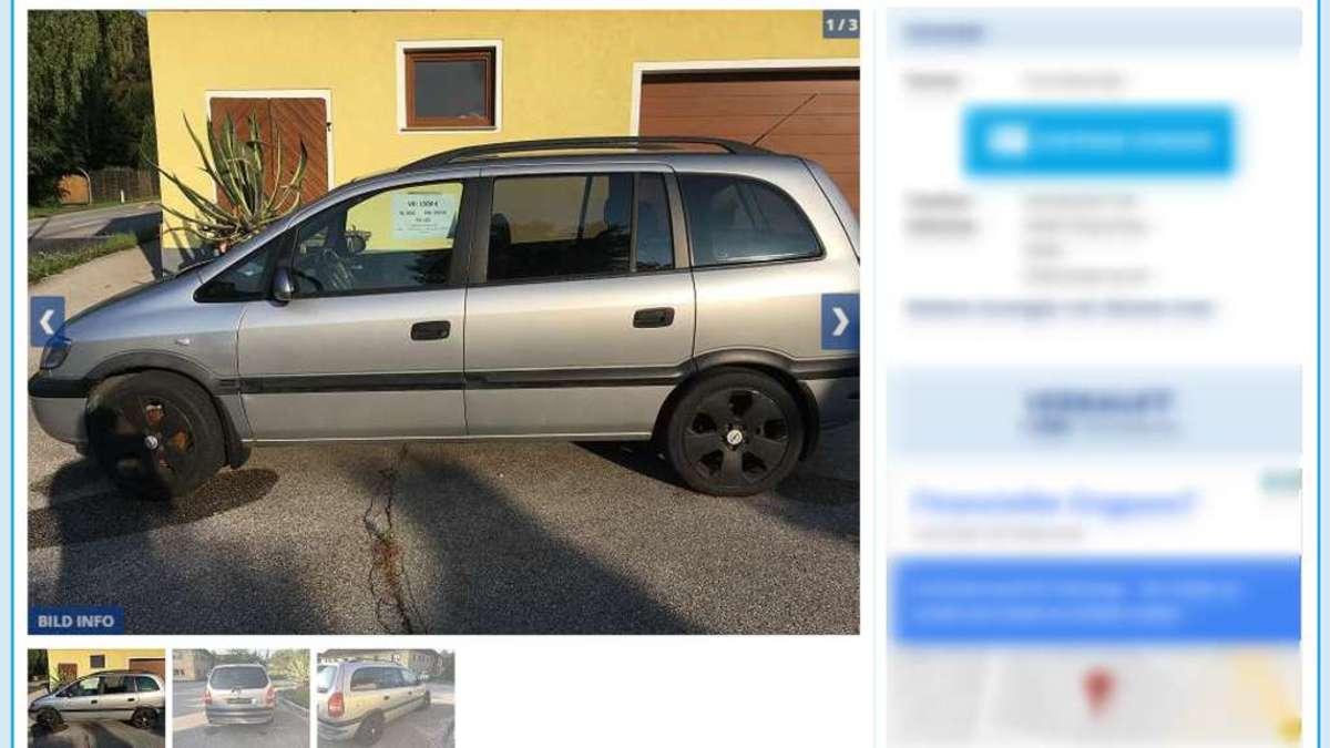 Kuriose Anzeige Im Internet Mann Will Sein Auto In österreich Gegen