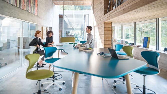 Büromöbel Müller: So könnte das Büro der Zukunft aussehen ...