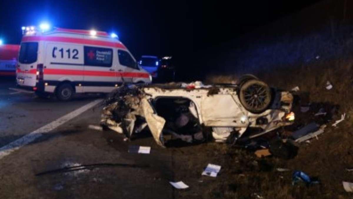 Schleiz Thüringen Schwerer Unfall Auf Der A9 Bereits Geretteter