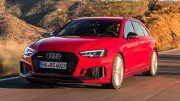 Audi A4 Avant auch als RS-Modell mit 450 PS