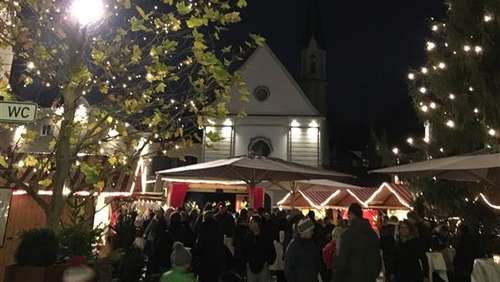 Bad Aiblinger Christkindlmarkt am vierten Advents-Wochenende