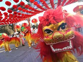 China Lunar New Year and Spring Festival