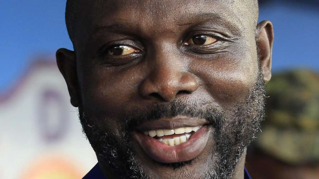 George Weah ist neuer Präsident in Liberia.