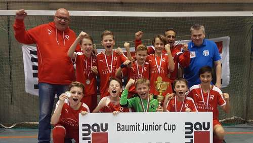 U 13 triumphiert beim internationalen Hallencup in Schärding