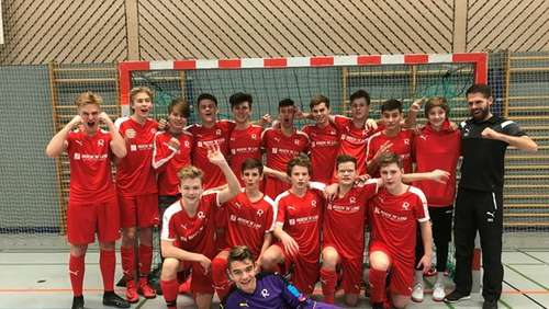 U16 – Turniersieg der B-Junioren in Augsburg