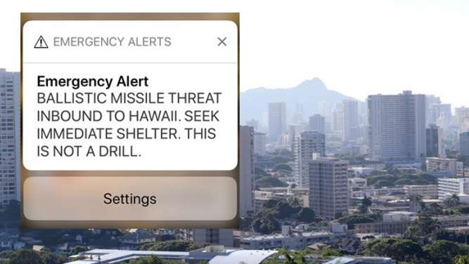 Falscher Alarm in Hawaii