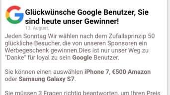Chrome iphone 7 gewinnspiel