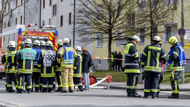 Explosion in Wohnhaus in Poing