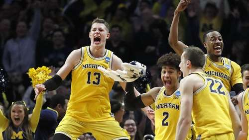 Basketball-Talent Wagner mit Michigan im Halbfinale