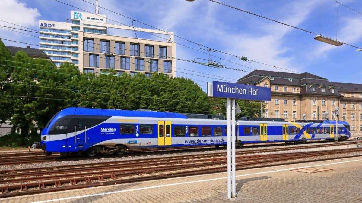 München Rosenheim Geänderte Fahrpläne Beim Meridian Wegen