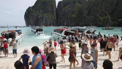 "Thailand schließt Traumstrand aus Hollywood-Film ""The Beach"""