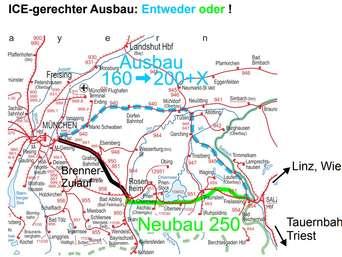 Rohrdorf Bahnstrecke München Salzburg Soll Ausgebaut Werden