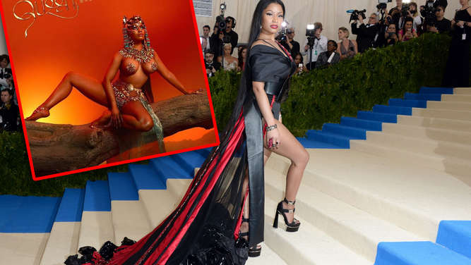 Minaj bild nicki nackt Nicki Minaj