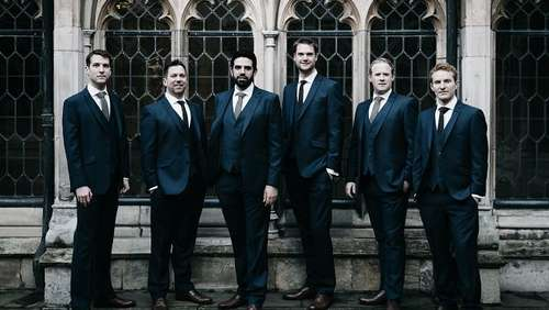 """The Queen&#39s Six"" aus Windsor Castle live in Prien"