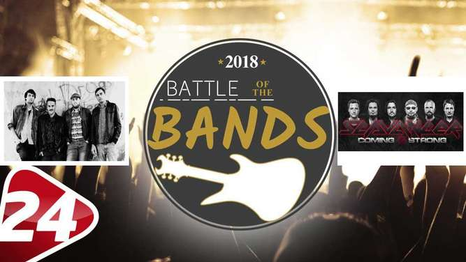 "Das fünfte Match im Achtelfinale des ""Battle of the Bands: And The Sinister Kids gegen Scavanger."