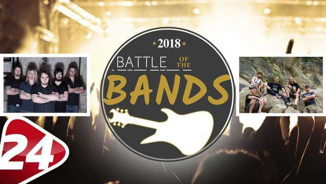 "Das vierte  Match im Viertelfinale des ""Battle of the Bands"": Edgedown gegen Fatal Error."