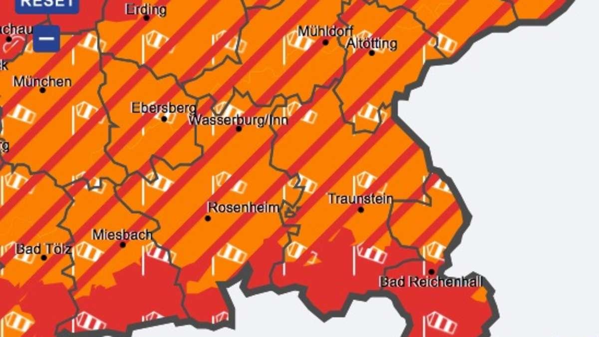 Wetter Deutscher Wetterdienst Warnt Vor Orkanböen In Der Region