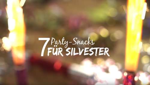 Party-Snacks für Silvester