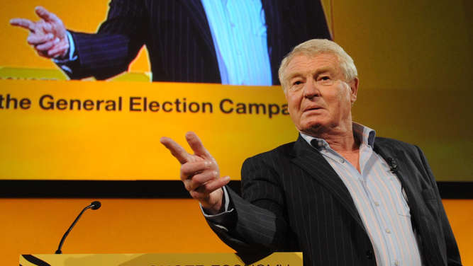 Paddy Ashdown.