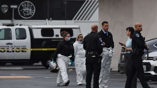 &#39Multiple victims&#39 in shooting near Los Angeles: local police