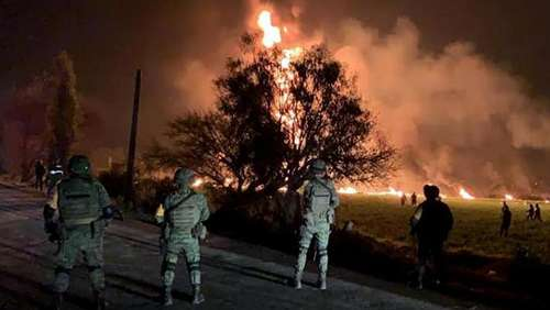 Tod im Inferno: 67 Tote nach Pipeline-Explosion in Mexiko