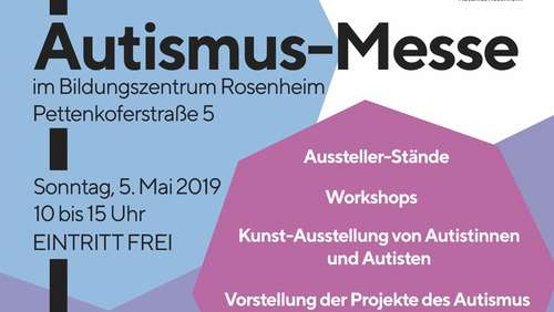 Autismus-Messe am 5. Mai
