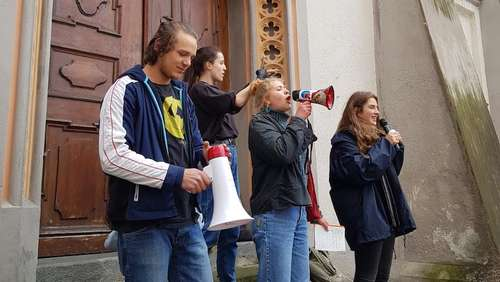 Fridays-for-Future-Demo in Wasserburg