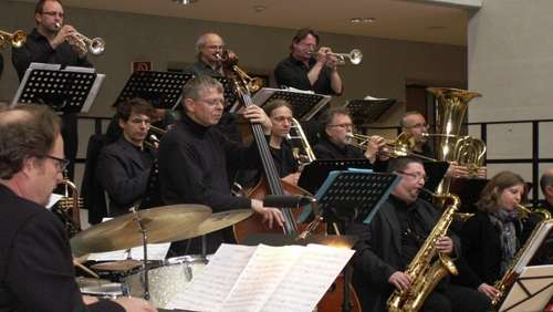 Am 18. Mai: Big-Band-Jazz in der Schule