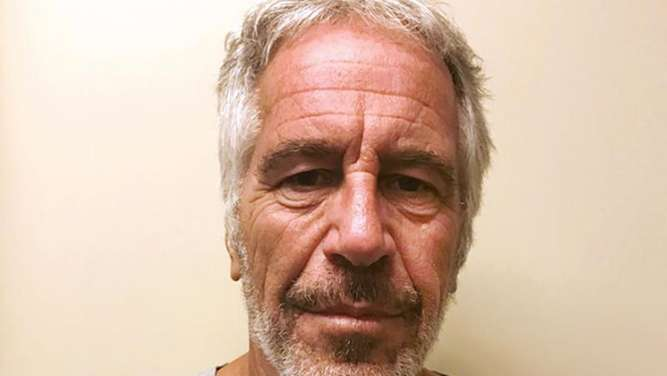 Der wegen Missbrauchs minderjähriger Mädchen angeklagte US-Unternehmer Jeffrey Epstein hat sich in einem Gefängnis in New York umgebracht. Foto. New York State Sex Offender Registry/AP Foto: -