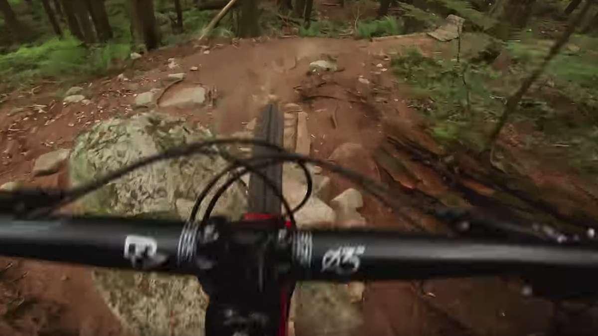 Video des Tages: Unglaublich! Mit dem Mountainbike auf schmalen Holzstegen durch den Wald | Video des Tages - rosenheim24.de