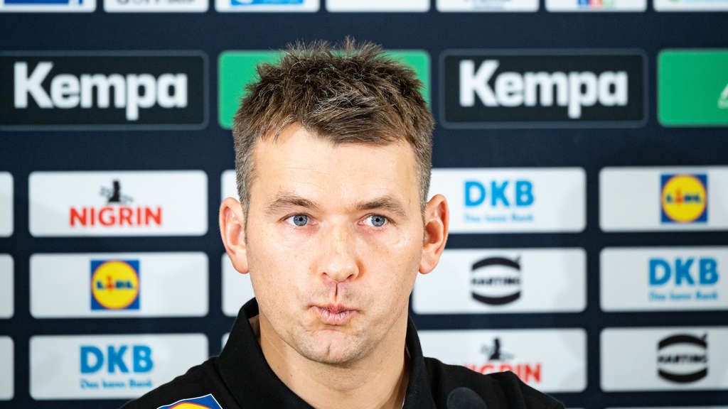 Pressekonferenz Handball-Nationalmannschaft