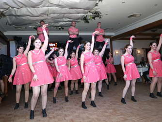 Galaball der Hot Socks Ramerberg am 17. Januar