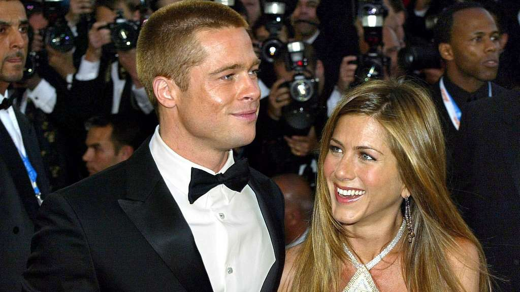 Brad Pitt und Jennifer Aniston 2004
