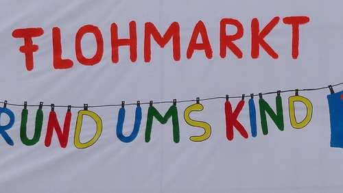 "Flohmarkt ""Rund um's Kind"" in Happing"