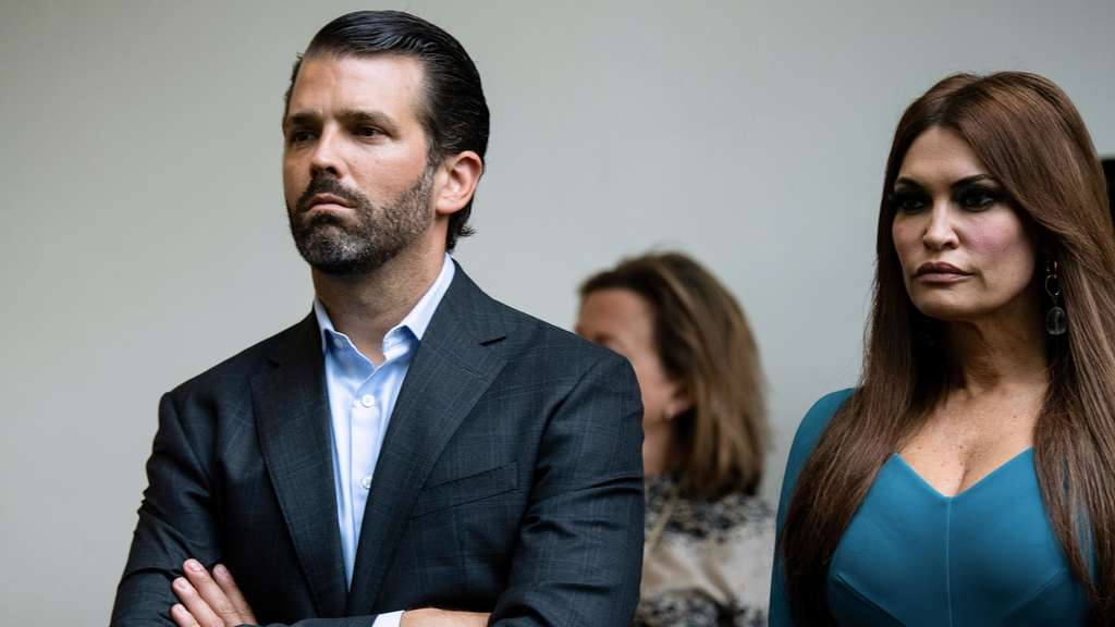 Donald Trump Junior und Kimberly Guilfoyle