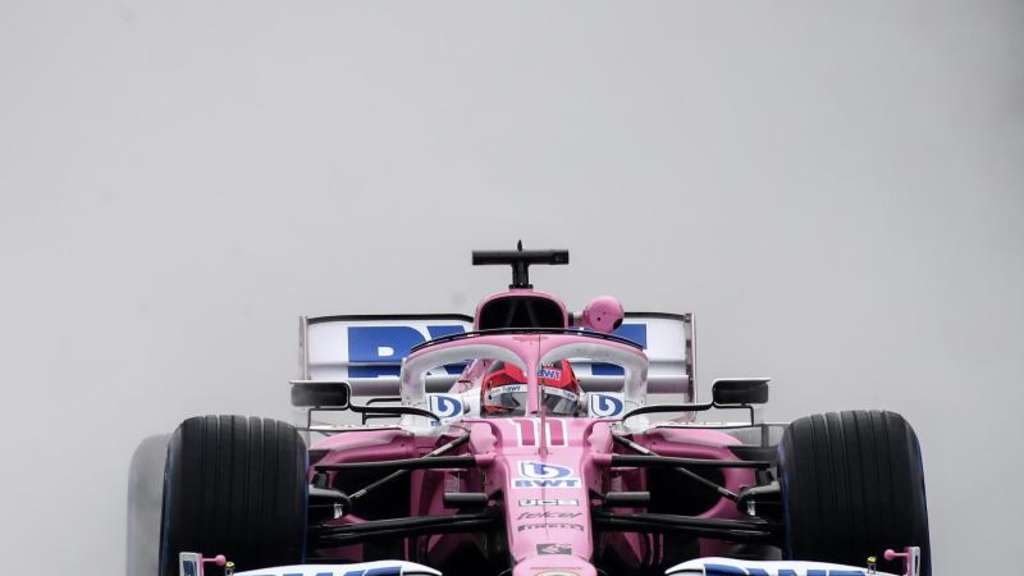 Das Team Racing Point soll Bauteile von Mercedes kopiert haben. Foto: Mark Thompson/Pool Getty/AP/dpa