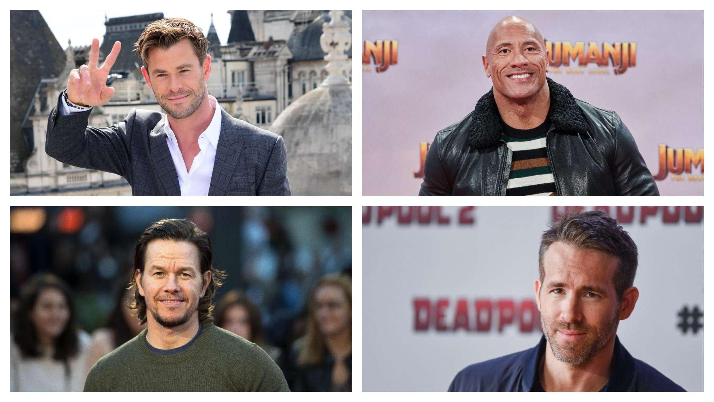 Schauspieler männlich liste hollywood Hollywood schauspieler