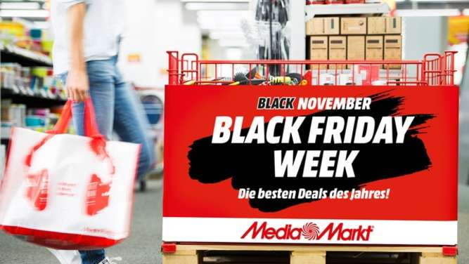 MediaMarkt Rosenheim startet Black Friday Week mit sensationellen Preiskrachern