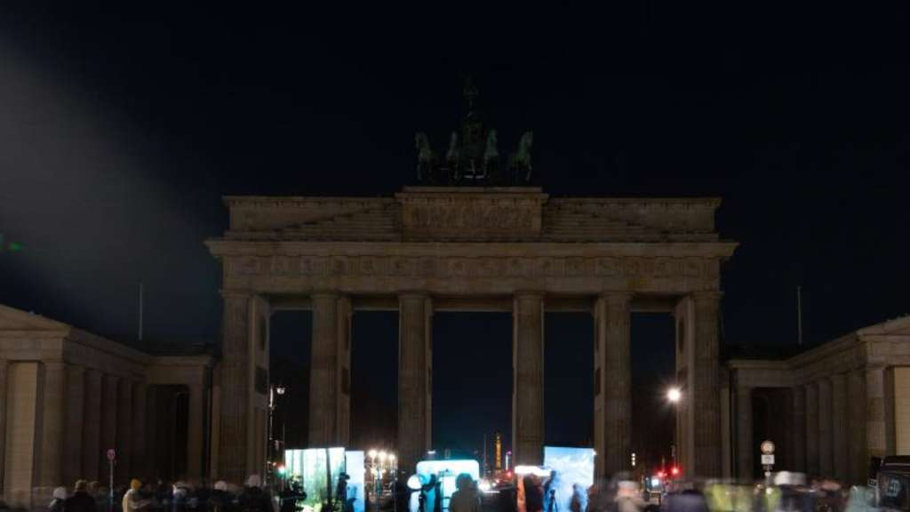 Earth Hour - Berlin
