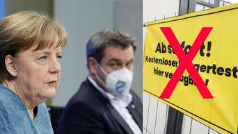 Tests Maske Impfungen Merkel Und Ministerprasidenten Bei Bund Lander Gipfel Beschliessen Neue Corona Regeln Bayern
